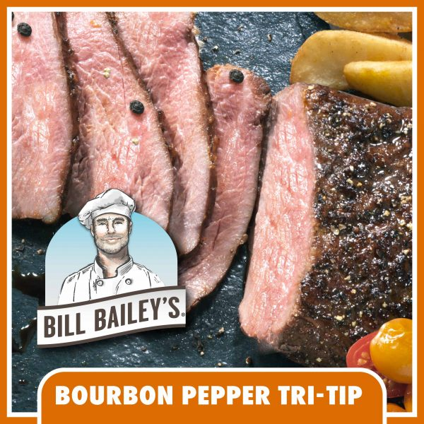 Bill Bailey's Bourbon Pepper Tri-Tip Hero Image