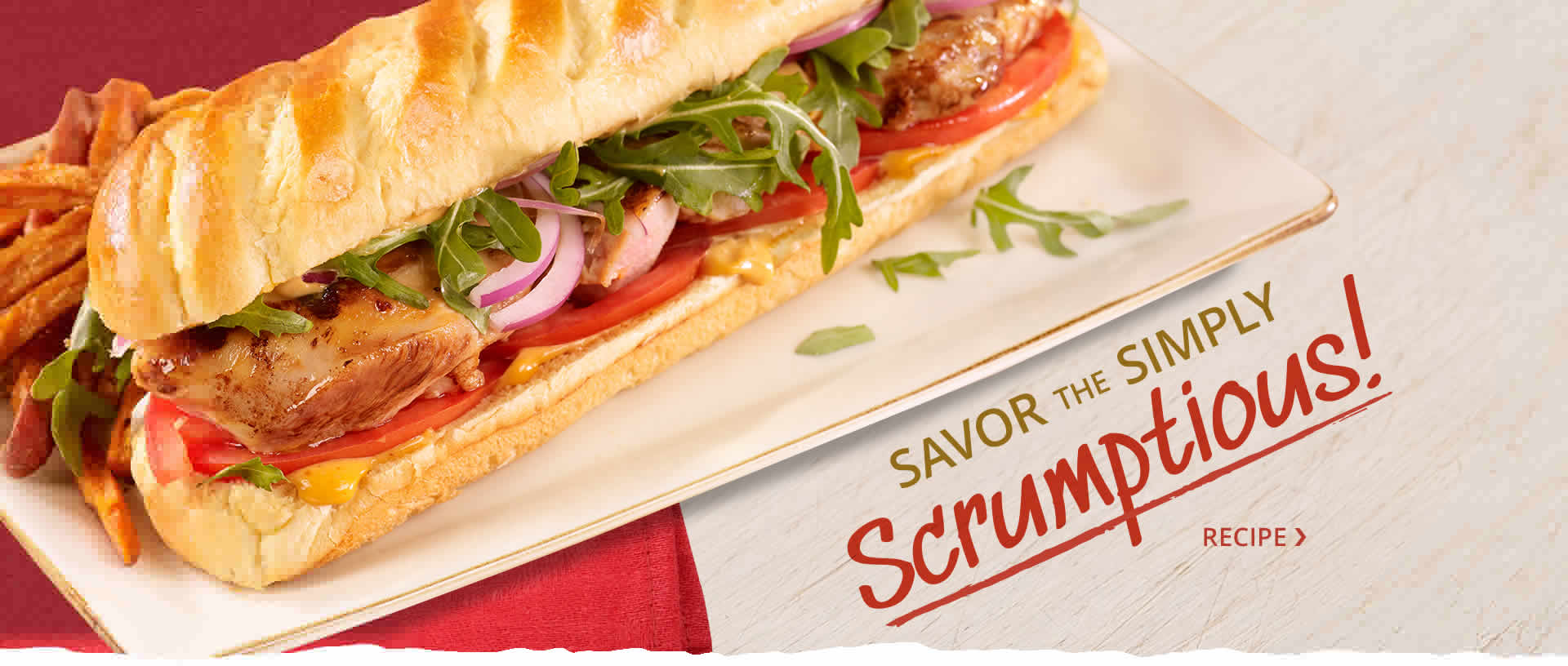 Savor the Simply Scrumptious with this Smoky Sweet Sub Recipe