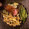 Bourbon Pepper Tri-Tip Beef Sirloin Roast