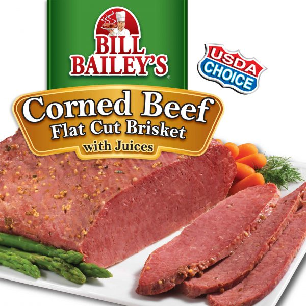 Corned Beef Flat Cut <br />Fully Cooked Brisket