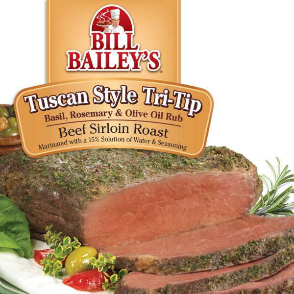 Tuscan Style <br />Tri-Tip Beef Sirloin Roast