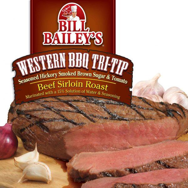 Western BBQ <br />Tri-Tip Beef Sirloin Roast