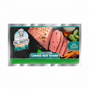 Bill Bailey's Irish Corned Beef Round Packaging